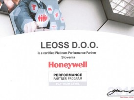 LEOSS je Honeywell Platinum Performance Partner